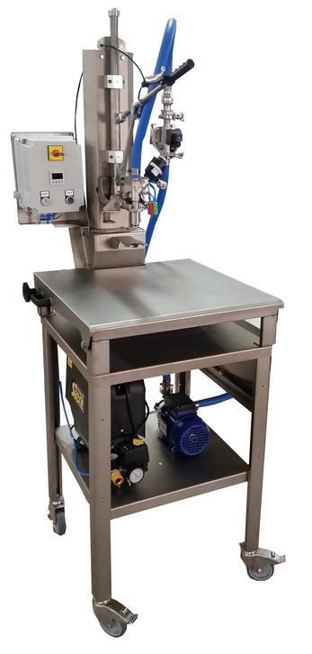 FILLING BAG IN BOX SEMI MANUAL NEW MACHINE