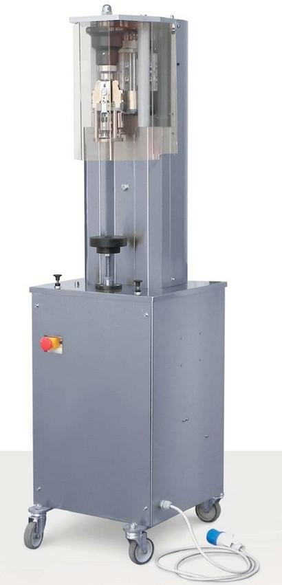 SEMI-AUTOMATIC CAPPER MACHINE FOR ALUMINIUM SCREW CAP NEW MACHINE