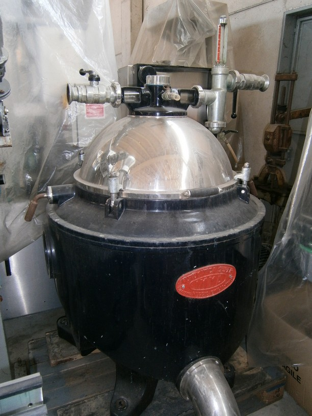 AUTOMATIC CENTRIFUGAL CLARIFIER MODEL IMMA SUPER SECOND-HAND MACHINE