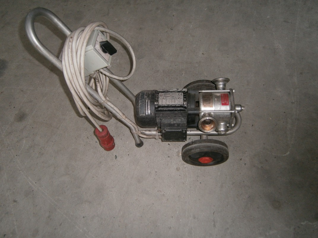 MENCARELLI PUMP MODEL PAS/A 110 SECOND-HAND MACHINE