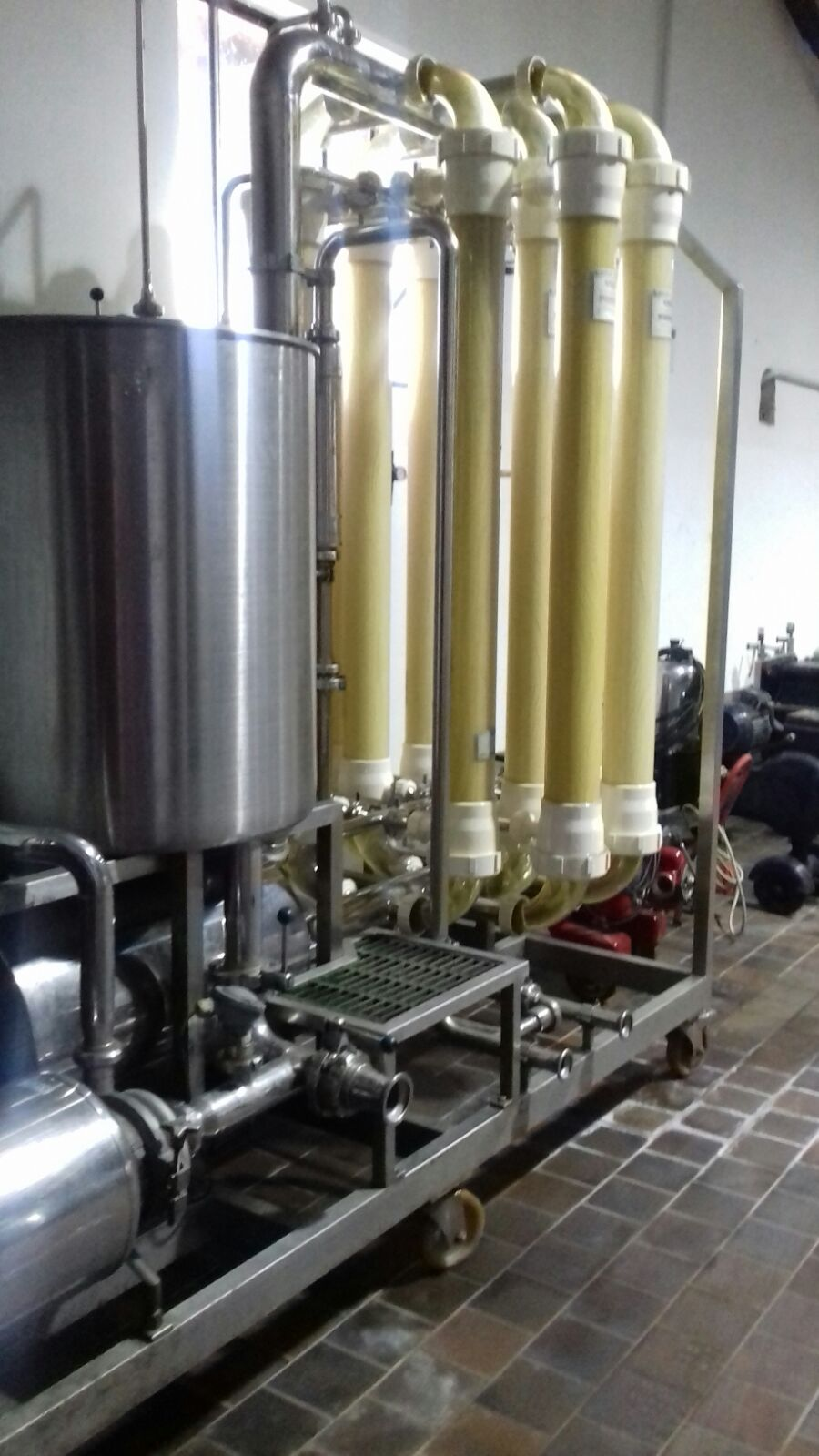 CROSSFLOW FILTERS SYSTEM KOCH MODEL WF10 SECOND-HAND MACHINE