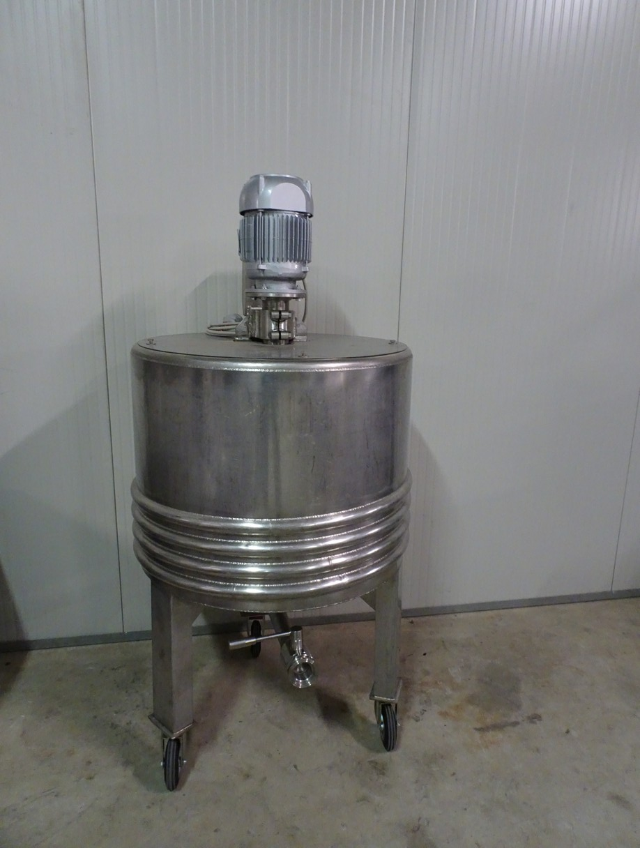 MIXER IN STAINLESS STEEL 316 CAPACITY LITERS 250 SECOND-HAND MACHINE