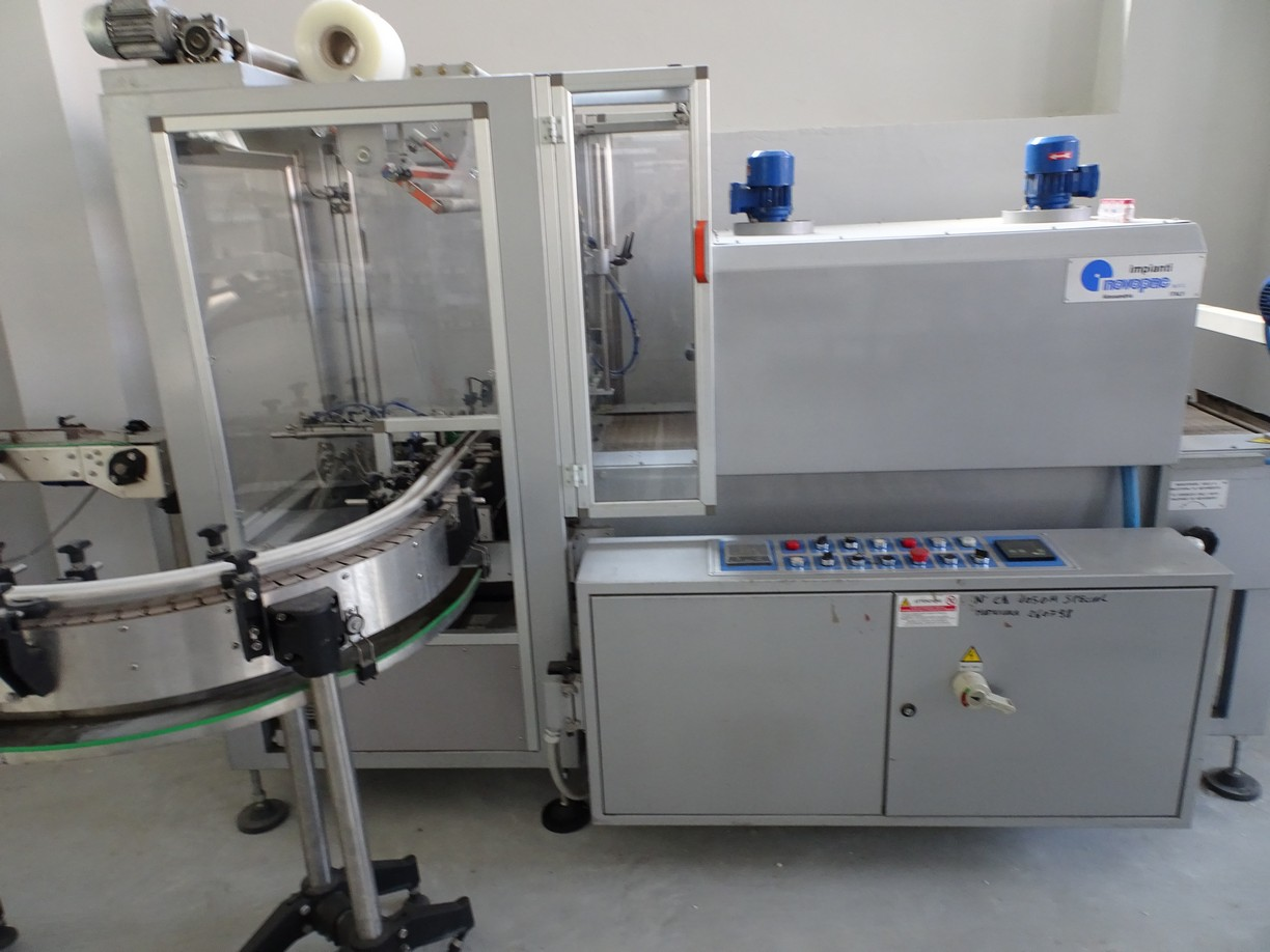 AUTOMATIC SHRINKWRAPPERS/TERMOPAC BRAND NOVOPAC, SECOND-HAND MACHINE.