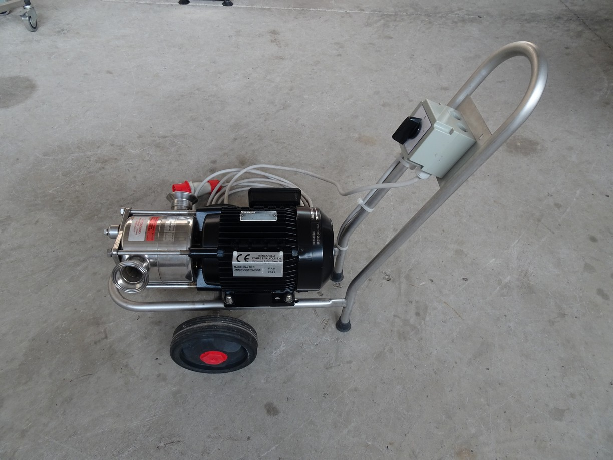 MENCARELLI PUMP MODEL PAS/A 130, SECOND-HAND MACHINE.