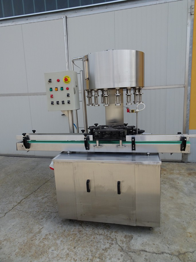 FILLING MACHINE BORELLI TO 16 VALVES, GRAVITY FILLING, SECOND-HAND MACHINE.